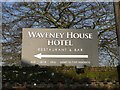 TM4290 : Signage for the Waveney House Hotel, Beccles by Adrian S Pye