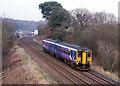 NY5560 : Trains at Farlam Road, Milton - February 2017 (1) by The Carlisle Kid