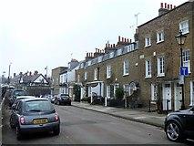 TQ1977 : Kew Green houses [3] by Michael Dibb