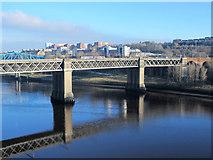 NZ2463 : The King Edward VII bridge by Mike Quinn