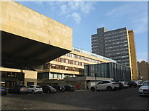 NT2572 : University Buildings on Buccleuch Place by M J Richardson