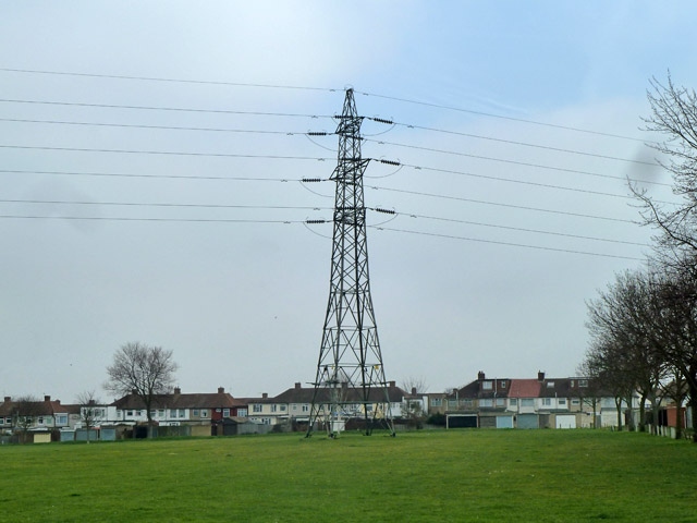 Pylon in Penhill Park
