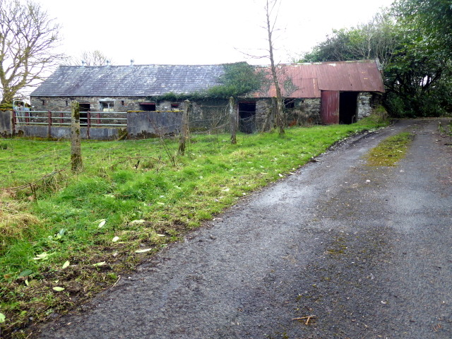 Derelict farm buildings, Woodbrook