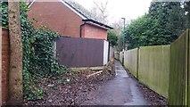 SP0683 : Footpath north of Sir John's Road by Paul Collins