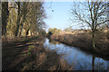 TL8466 : River Lark looking downstream by Bob Jones