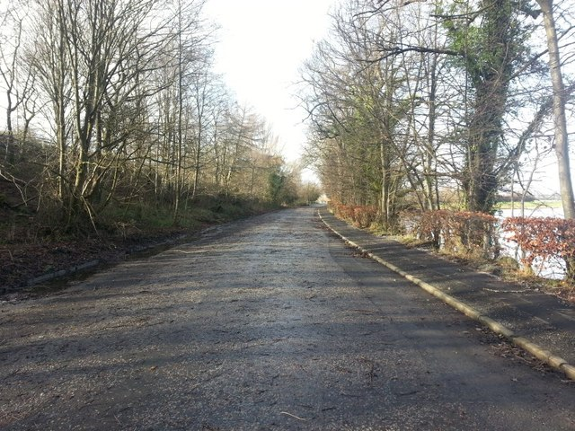 A84, old alignment