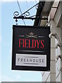 TM5493 : The hanging sign for 'Fieldys' public house by Adrian S Pye