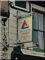 TM5593 : The hanging sign of 'The Triangle Tavern' by Adrian S Pye