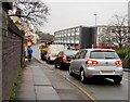 SJ7055 : Queueing traffic, Edleston Road, Crewe by Jaggery