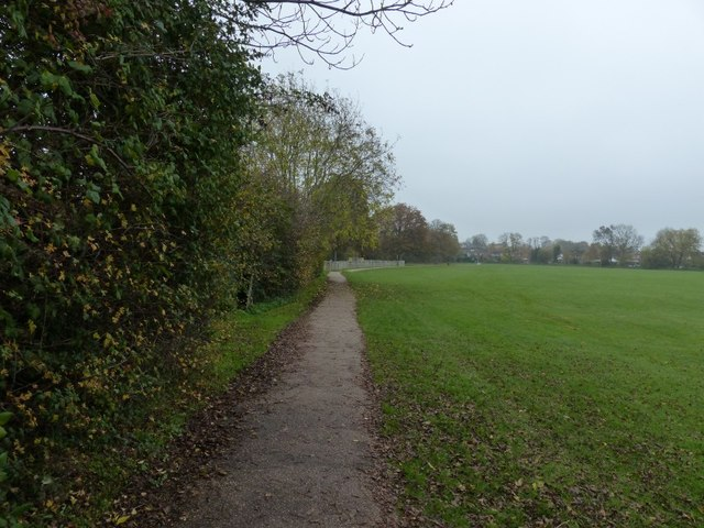 Path from Shottery