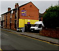 SJ7054 : Woody's Bar name sign, Crewe by Jaggery