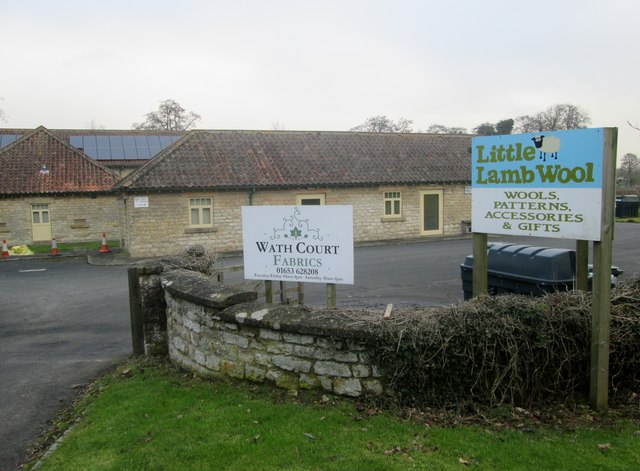 Entrance  to  Wath  Court  Business  Units