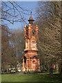 TQ3006 : Clock tower, Preston Park by Jim Osley