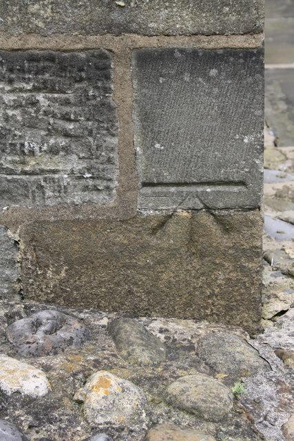 Benchmark on St James's Church