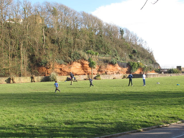 Football on The Ham, Sidmouth