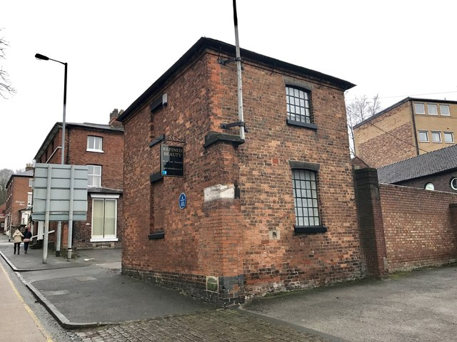 Newcastle-under-Lyme: former veterinary surgery on Queen Street