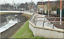 J3674 : Connswater works, Belfast - February 2017(1) by Albert Bridge