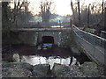 TQ4453 : Culvert under Mill Lane, Westerham by Malc McDonald