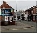 SJ7054 : BT phonebox on a Crewe corner by Jaggery