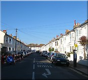 TQ2804 : Connaught Terrace, Hove by Simon Carey