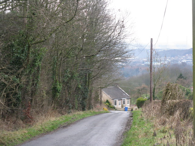 Looking towards Chapel Cottage