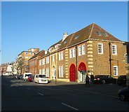 TQ2804 : Audley House/Regent House/Vallance House, Hove Street, Hove by Simon Carey