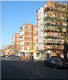 TQ2804 : Hove Manor, Hove Street, Hove by Simon Carey