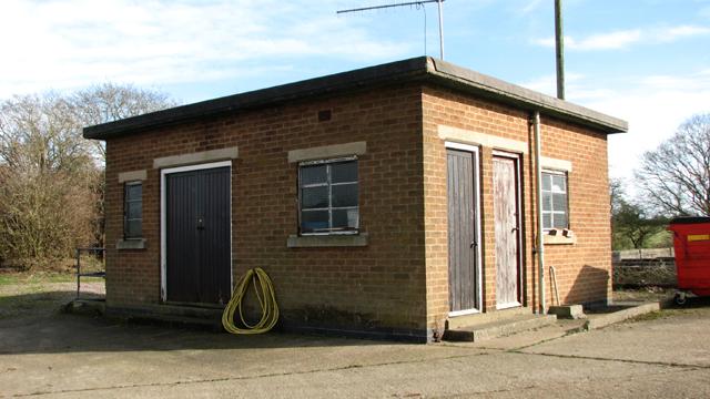 Caistor St Edmund sewage works - pumping station