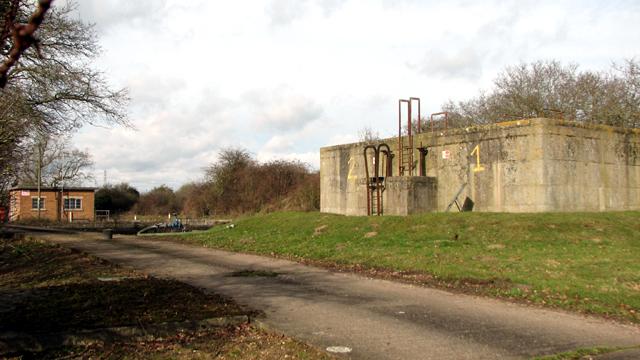 Caistor St Edmund sewage works