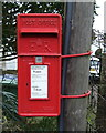 TL3172 : Close up, Elizabeth II postbox on Needingworth Road, St Ives by JThomas