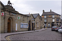 SK0394 : Glossop Station by Stephen McKay