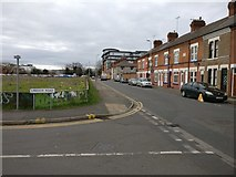 SK5803 : Junction of Lineker Road and Filbert Street by Mat Fascione