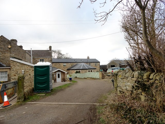 Converted buildings at Snow's Green Farm