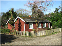TG2202 : Weatherboarded bungalow on Dunston Common by Evelyn Simak