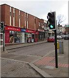 SO6024 : Pelican crossing, Gloucester Road, Ross-on-Wye by Jaggery