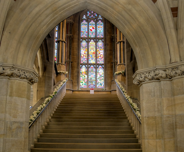 the grand staircase  rochdale town hall  u00a9 david dixon