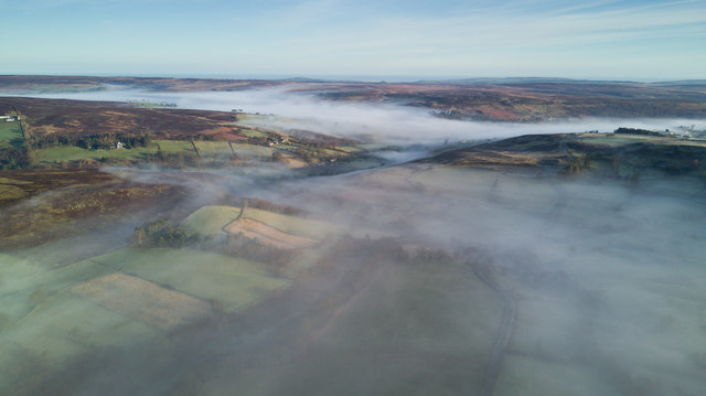 Foggy bottoms in the Esk Valley