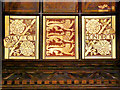 SD8913 : Heraldic Panelling, Rochdale Town Hall by David Dixon