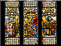 SD8913 : Stained Glass, The Great Hall at Rochdale Town Hall by David Dixon