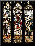 SD8913 : Stained Glass Window, Tudor Monarchs by David Dixon