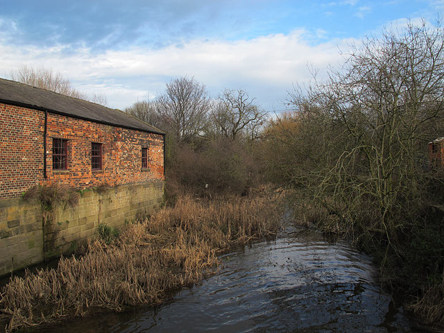 Thwaite Mills: tailrace and workshop