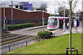 SP0090 : West Bromwich Central Tram Stop by Stephen McKay