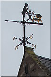 SO6024 : Weathervane detail, Gloucester Road, Ross-on-Wye by Jaggery