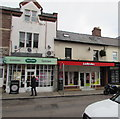 SO6024 : Specsavers and Ladbrokes in Ross-on-Wye town centre by Jaggery
