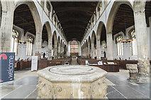 TF6120 : Interior, St Nicholas' Chapel, King's Lynn by J.Hannan-Briggs