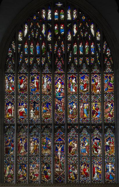 East window, St Nicholas' Chapel, King's Lynn