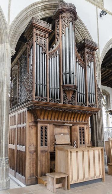 Organ, St Nicholas' Chapel, King's Lynn
