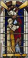 TF6120 : Stained glass window panel, St Nicholas' Chapel, King's Lynn by Julian P Guffogg