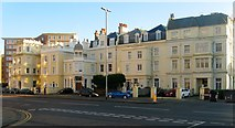 TQ2804 : Courtenay Terrace, Kingsway, Hove by Simon Carey