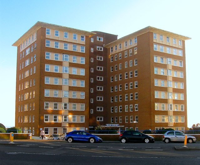 Flag Court, Courtenay Terrace, Kingsway, Hove